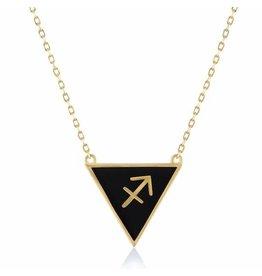 Shop Zodiacs Zodiac Necklace - Sagittarius
