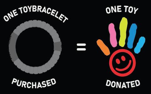 Toy Bracelet: Helping Kids One Toy at a Time