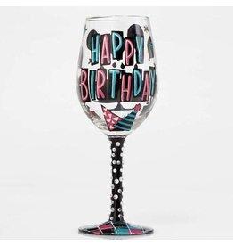 Lolita Happy Day Wine Glass