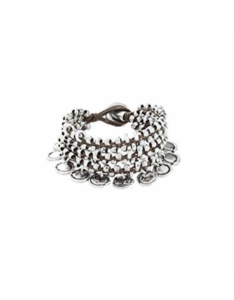 UNOde50 Sealed -  Cotton Thread Bracelet