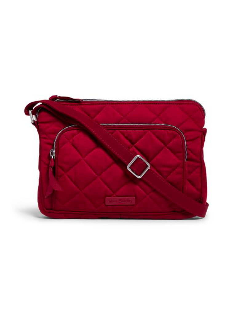 Vera Bradley Iconic RFID LIttle Hipster Berry Red