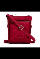 Vera Bradley Iconic RFID Mini Hipster Berry Red
