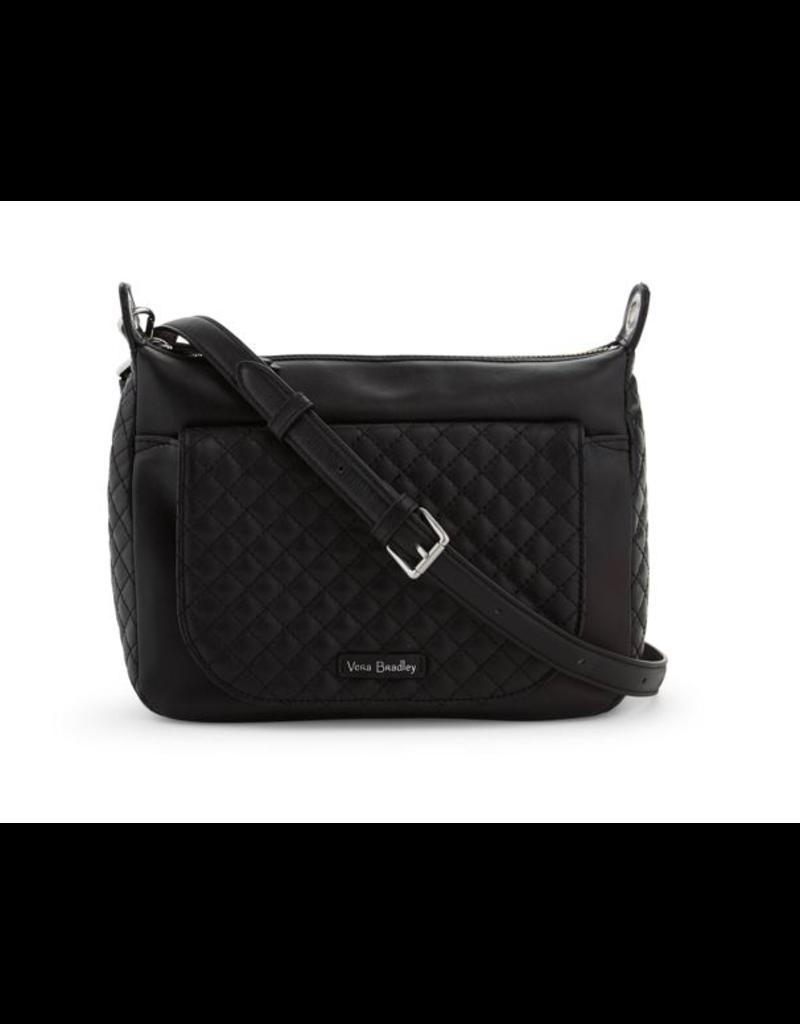 Vera Bradley Carson Mini Shoulder Bag Black