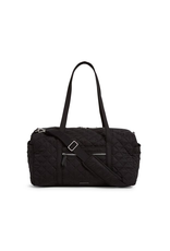 Vera Bradley Iconic Medium Travel Duffel Black