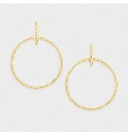 Gorjana Balboa Drop Earrings Gold