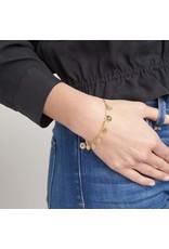 Gorjana Ana Coin Bracelet- Gold
