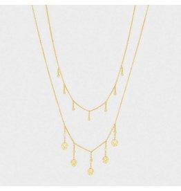 Gorjana Stella Layered Necklace Gold