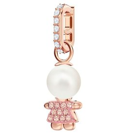 Swarovski Remix: Charm Girl Silk/Crystal/Rose Gold Plated