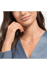 Swarovski Penelope Cruz Moonsun Necklace, White, Rose Gold Plated