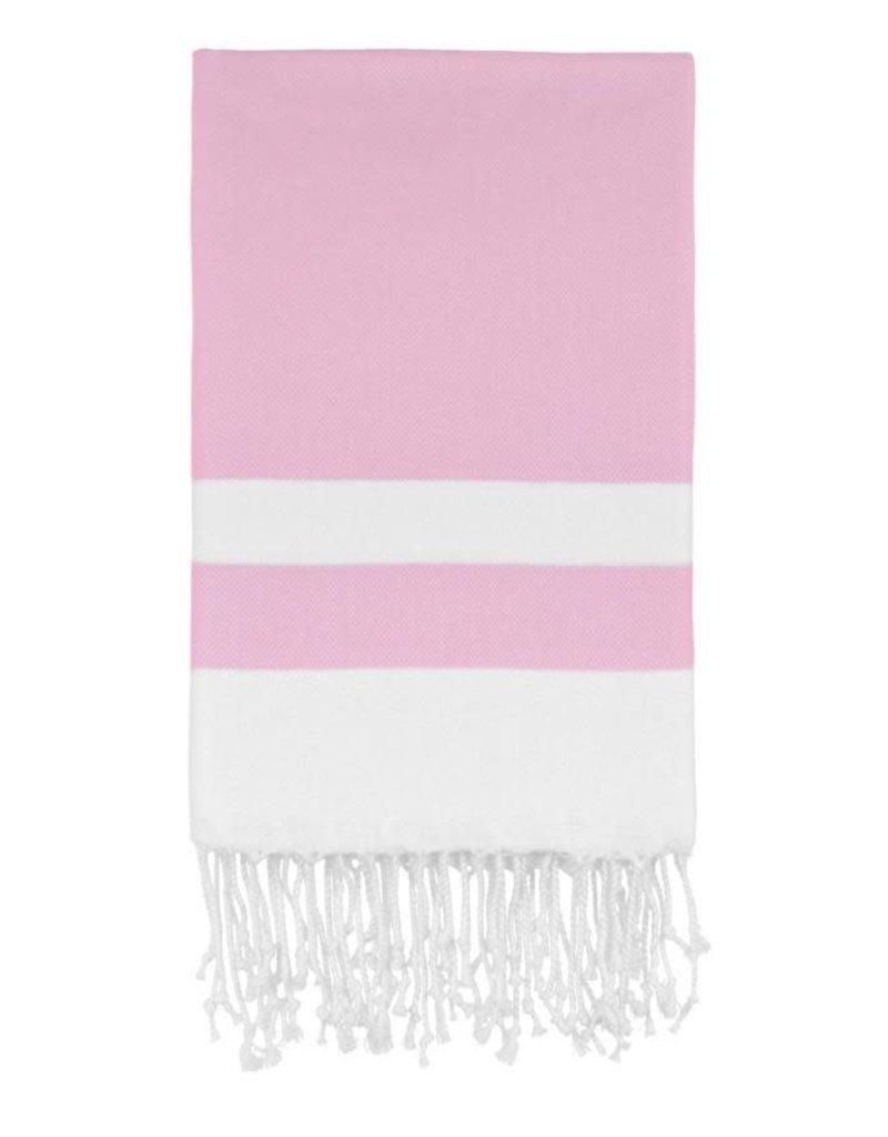 Olive and Loom Bianca Beach Peshtemal Towel - Pink