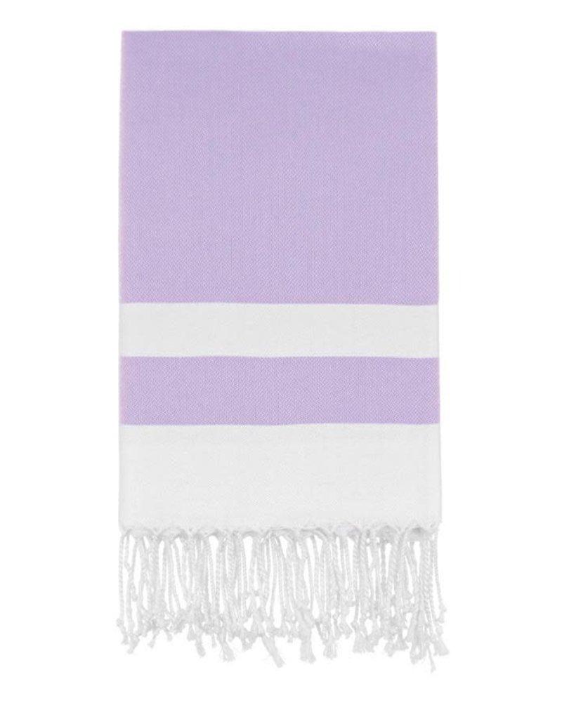 Olive and Loom Bianca Beach Peshtemal Towel - Lavender