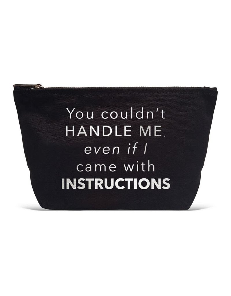 Handle Instructions Pouch