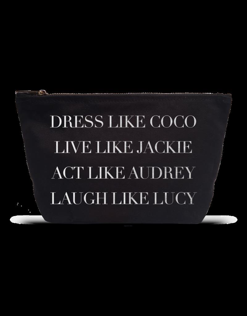 Dress like Coco-Black Pouch
