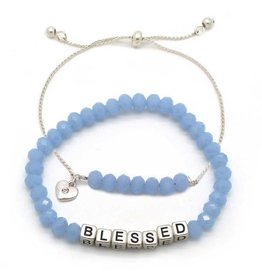 KIS My Messages Bracelet, Blessed