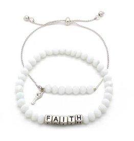 KIS My Messages Bracelet, Faith
