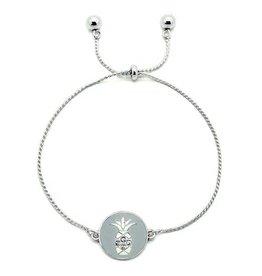KIS Mirabella Bracelet, Pineapple SILVER