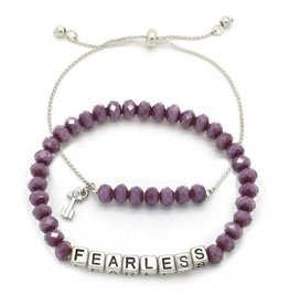 KIS My Messages Bracelet, Fearless