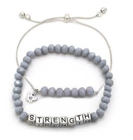 KIS My Messages Bracelet, Strength