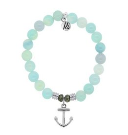 Tiffany Jazelle Core Collection, Aqua Agate, Anchor