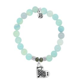 Tiffany Jazelle Core Collection, Aqua Agate, Family Tree