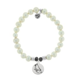 Tiffany Jazelle Core Collection-White Pearl, Cardinal