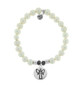 Tiffany Jazelle Core Collection-White Pearl, Guardian Angel