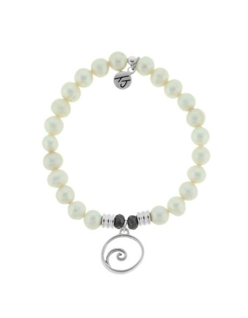 Tiffany Jazelle Core Collection-White Pearl, Wave