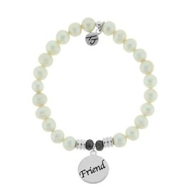 Tiffany Jazelle Core Collection-White Pearl, Friend