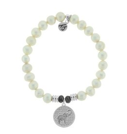 Tiffany Jazelle Core Collection-White Pearl, Lucky Elephant