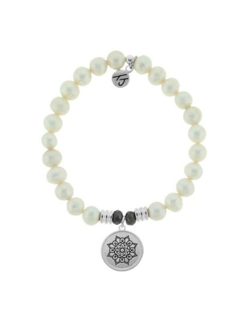Tiffany Jazelle Core Collection-White Pearl, Mandala