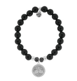 Tiffany Jazelle Core Collection- Onyx Faceted, Tree Of Life