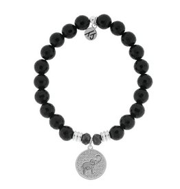 Tiffany Jazelle Core Collection- Onyx Faceted, Lucky Elephant