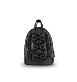 7AM Voyage Mini Bows backpack- Black