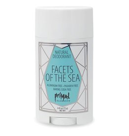 Primal Elements Natural Deodorant - Facets Of The Sea