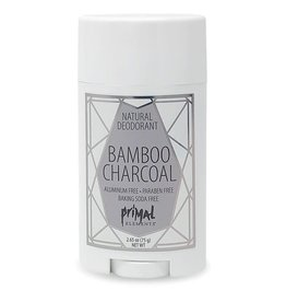 Primal Elements Natural Deodorant - Bamboo Charcoal