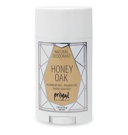 Primal Elements Natural Deodorant - Honey Oak