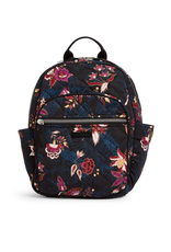 Vera Bradley Iconic Small Backpack Garden Dream