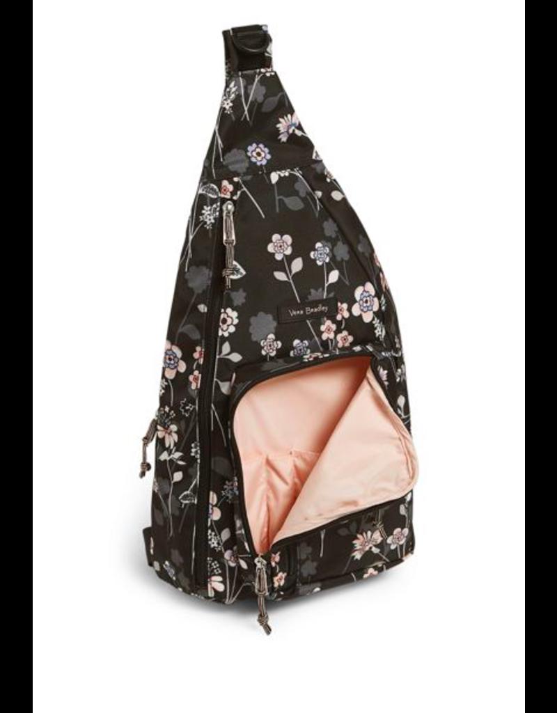 Vera Bradley Lighten Up Sling Backpack Holland Bouquet
