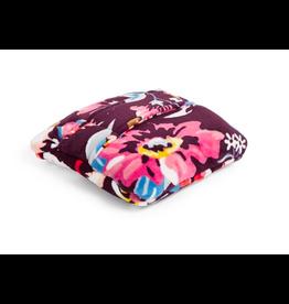 Vera Bradley Plush Fleece Travel Blanket Indiana Blossoms