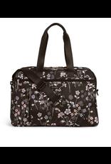 Vera Bradley Lighten Up Weekender Travel Bag Holland Bouquet