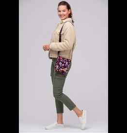 Vera Bradley Iconic RFID Mini Hipster Indiana Rose