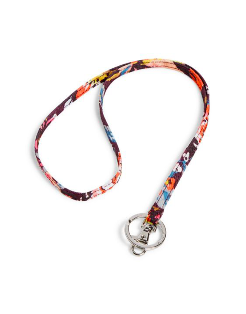 Vera Bradley Lighten Up Lanyard Indiana Blossoms