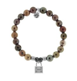 Tiffany Jazelle Core Collection, Mookaite Faceted, Unbreakable