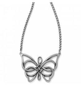 Brighton Interlok Unity Butterfly Necklace