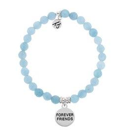 Tiffany Jazelle La Bella Vita - 6MM Blue Aquamarine - Forever Friends