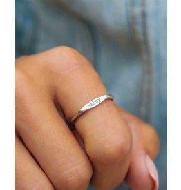 Pura vida salty vibes stacking ring