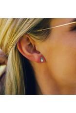 Pura vida Pineapple Stud Earring