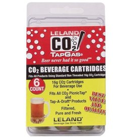CO2 CARTRIDGES-16g UNTHREADED (6)