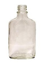 200 ML FLINT GLASS FLASK