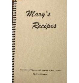 LD CARLSON MARY'S RECIPES